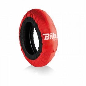 Couvertures chauffantes BIHR Evo2 autorégulée rouge pneus 200mm