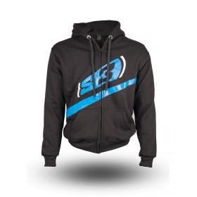 Sweatshirt S3 Alaska noir/bleu taille XS