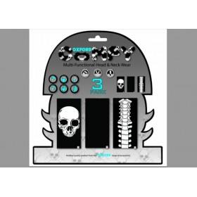 Tour de cou OXFORD Comfy Skeleton pack de 3