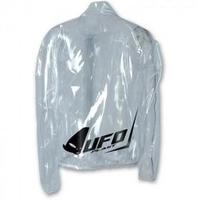 Veste de pluie UFO transparente taille XL