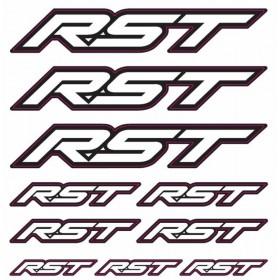 Planche de stickers RST 2017 - Lettres RST