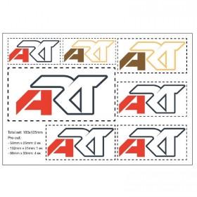 Planche stickers ART