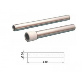 Tube de fourche BUZZETTI Ø30 x 340mm par paire pour fourche Paioli