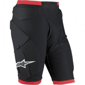 COMP PRO SHORTS BLACK/RED