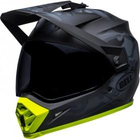Casque BELL MX-9 Adventure Mips - Stealth Camo Matte Black/Hi-Viz