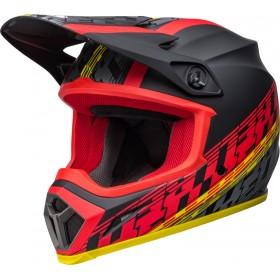 Casque BELL MX-9 Mips - Offset Matte Black/Red
