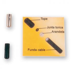 Embout de câble ALHONGA avec rondelle + joint torique