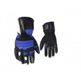 Gants RST Jet CE street cuir/textile été bleu taille XXL/12 homme