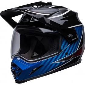Casque BELL MX-9 Adventure Mips - Dalton Gloss Black/Blue