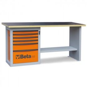 Etabli BETA Endurance servante six tiroirs - orange
