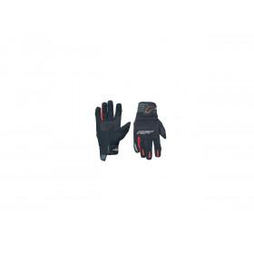 Gants RST Rider CE textile mi-saison rouge taille L/10 homme