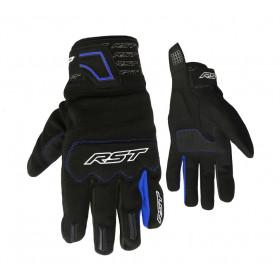 Gants RST Rider CE textile mi-saison bleu taille L/10 homme