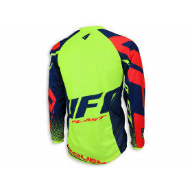 Maillot UFO Sequence jaune/bleu taille S