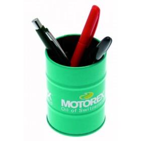 Mini fût décoratif porte stylo MOTOREX