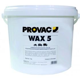 Crème de montage pneus PROVAC blanche - 5kg