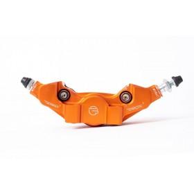 Étrier de frein arrière axial BERINGER Aerotec® MX 2 pistons - orange