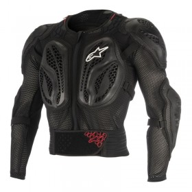 YOUTH BIONIC ACTION JACKET BLACK RED LXL