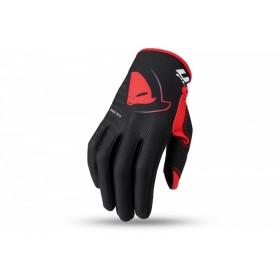 Gants motocross UFO Skill Kimura noir/rouge 2XL