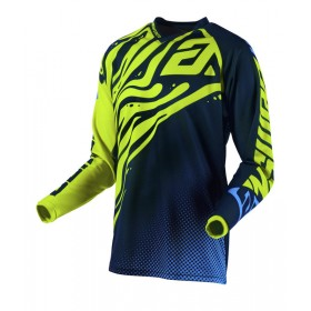 Maillot ANSWER Syncron Flow Hyper Acid/Midnight/Astana taille 2XL