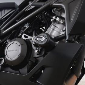 Tampons de protection R&G RACING Aero - noir Honda CBR125R