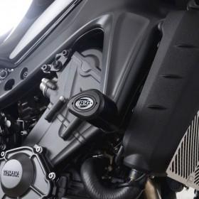 Tampons de protection R&G RACING Aero - noir Yamaha
