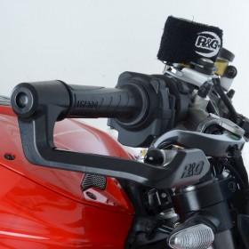 Protection de levier de frein R&G RACING - noir Triumph
