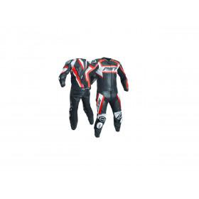 Pantalon RST Tractech Evo R CE cuir été rouge fluo taille XL homme