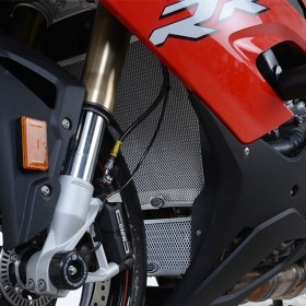 Protection de radiateur d'huile R&G RACING - titane BMW