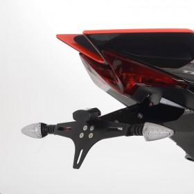 Support de plaque R&G RACING - noir Aprilia