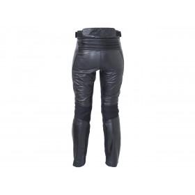 Pantalon RST Ladies Kate cuir été noir taille 3XL femme