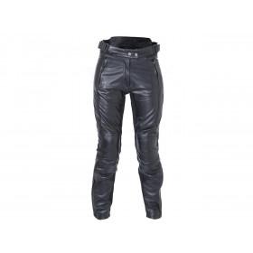 Pantalon RST Ladies Kate cuir été noir taille XXL femme