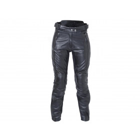 Pantalon RST Ladies Kate cuir été noir taille XS femme