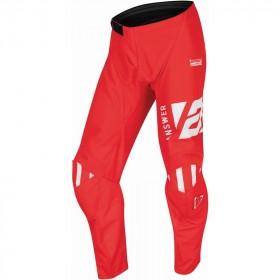 Pantalon ANSWER A22 Syncron Merge rouge/blanc taille 34