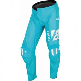 Pantalon ANSWER A22 Syncron Merge turquoise/blanc taille 34