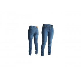 Pantalon RST Aramid CE textile été straight leg bleu foncé taille L femme