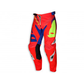 Pantalon UFO Sequence rouge/bleu taille 46