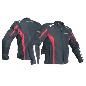 Veste RST Rider CE textile toutes saisons rouge taille XL homme