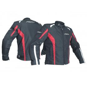 Veste RST Rider CE textile toutes saisons rouge taille S homme
