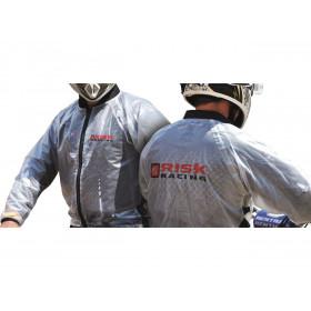 Veste de pluie Risk Racing translucide taille M