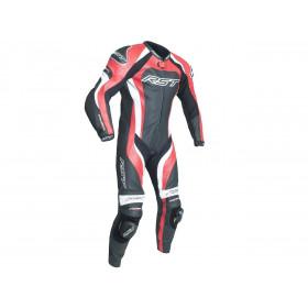 Combinaison RST TracTech Evo 3 CE cuir été rouge taille 3XL homme