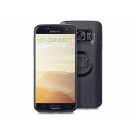 Pack complet SP-CONNECT Moto Bundle fixé sur guidon Samsung S7