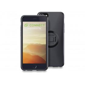 Pack complet SP-CONNECT Moto Bundle fixé sur guidon iPhone 8/7/6S/6