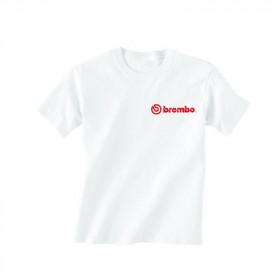 T-shirt Brembo blanc