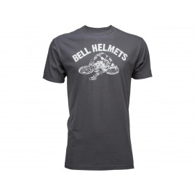 T-Shirt BELL Peoria 68 Charcoal taille S