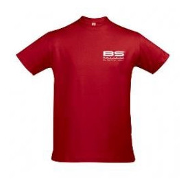 T-shirt BS rouge Taille XL