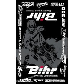 Tapis de paddock BIHR Home Track 160 x 100cm noir