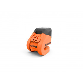 Bloque disque OXFORD Scoot XD5 Ø5mm orange/noir