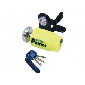 Bloque disque OXFORD Patriot Ø14mm jaune