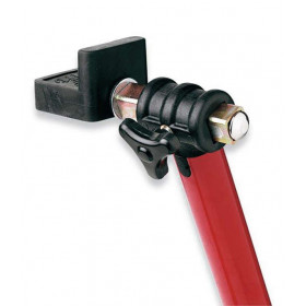 """Béquille arrière universelle BIKE LIFT noir avec supports caoutchouc en """"L"""""""