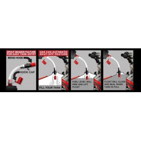 Tuyau anti-retour RISK RACING Flow control pour remplissage essence